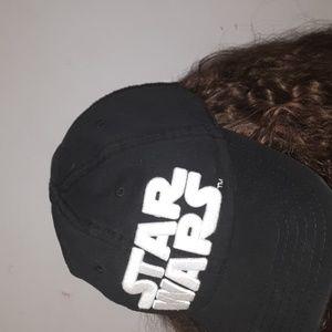 Black Star Wars Baseball Cap